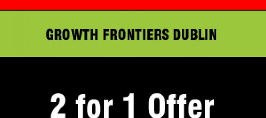 Growth Frontiers – 2-for-1 Offer