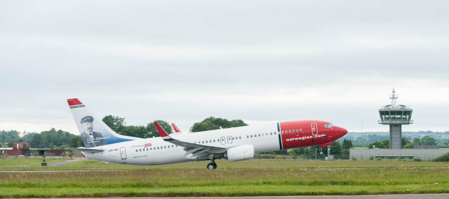 Norwegian's UK subsidiary given tentative approval by US Department of Transportation for transatlantic operations