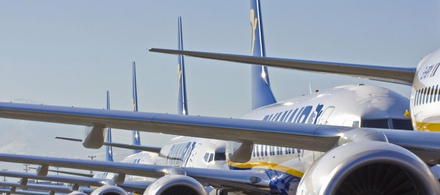 Ryanair cancels 30 flights from Ireland