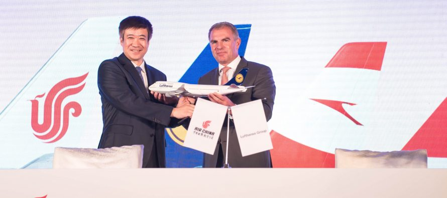 Lufthansa Group and Air China sign commercial joint venture
