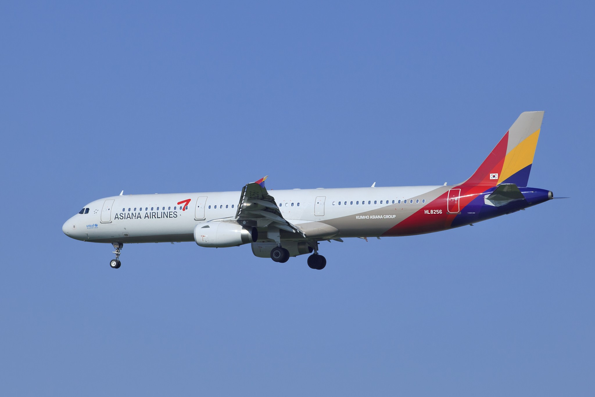ASIANA AIRLINES A321