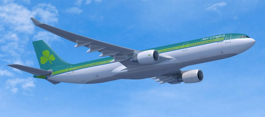 Aer Lingus celebrates inaugural flight from Dublin to Hartford