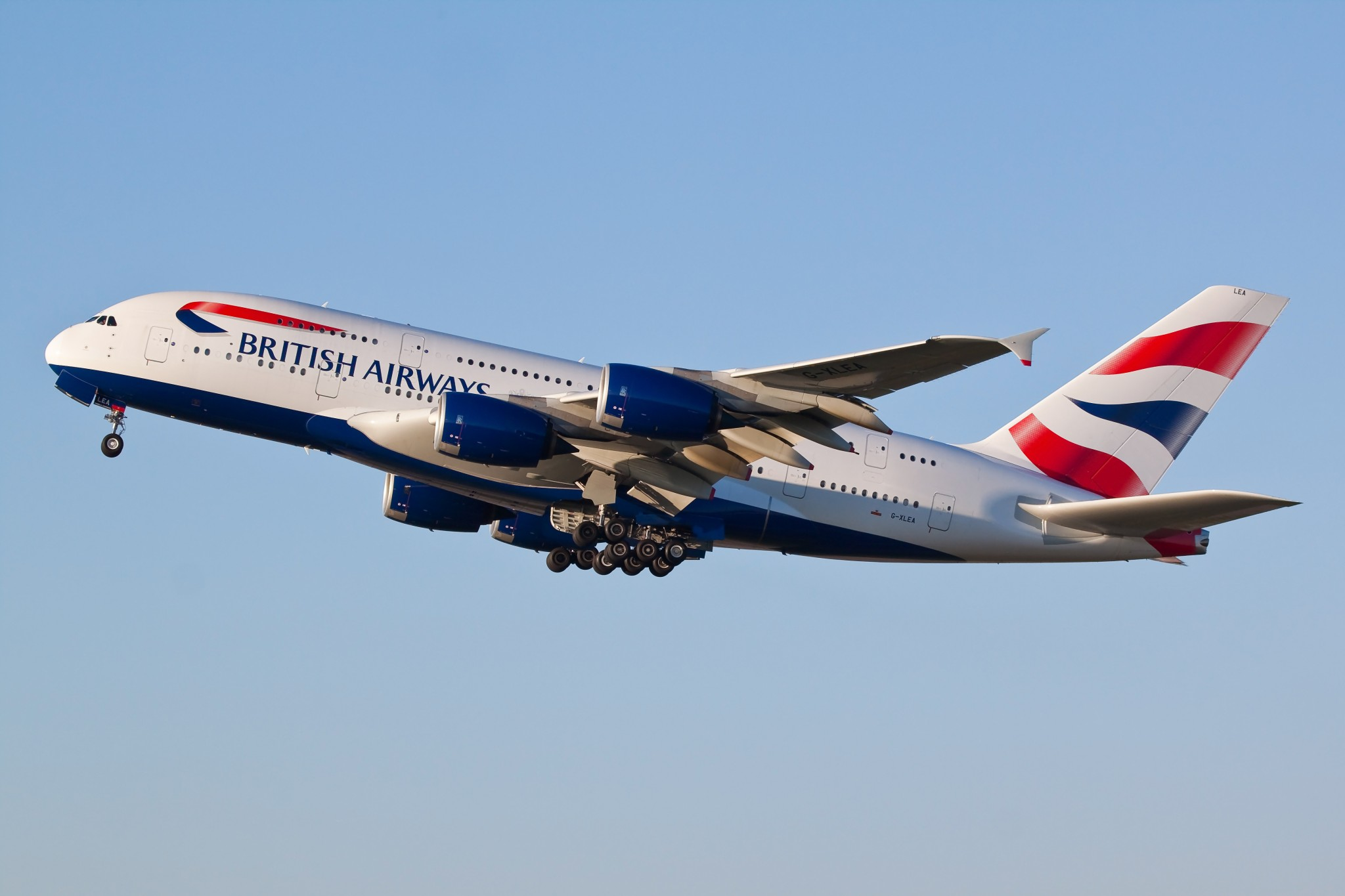 BRITISH AIRWAYS BA A380