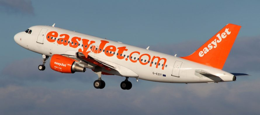 EasyJet reports January statistics