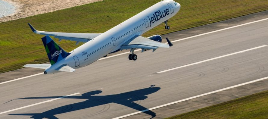 JetBlue Airways Reports January Traffic
