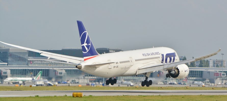 LOT Polish Airlines begins direct flights between Kraków And Chicago
