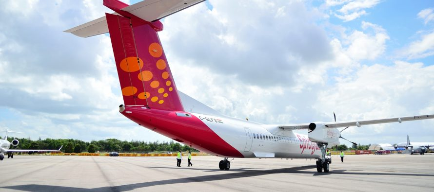 NAC delivers two DHC8-400s to SpiceJet on lease