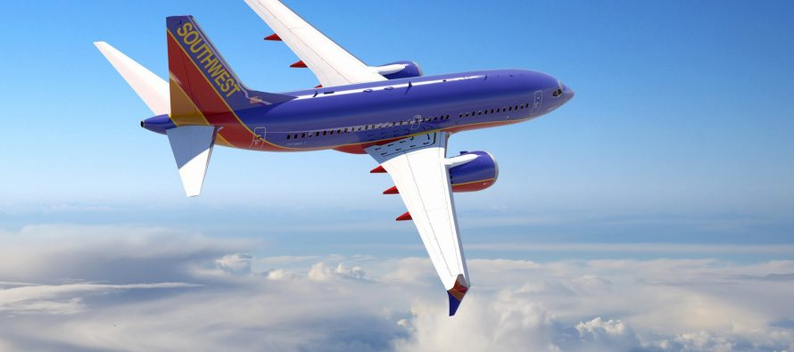 Southwest Airlines August traffic