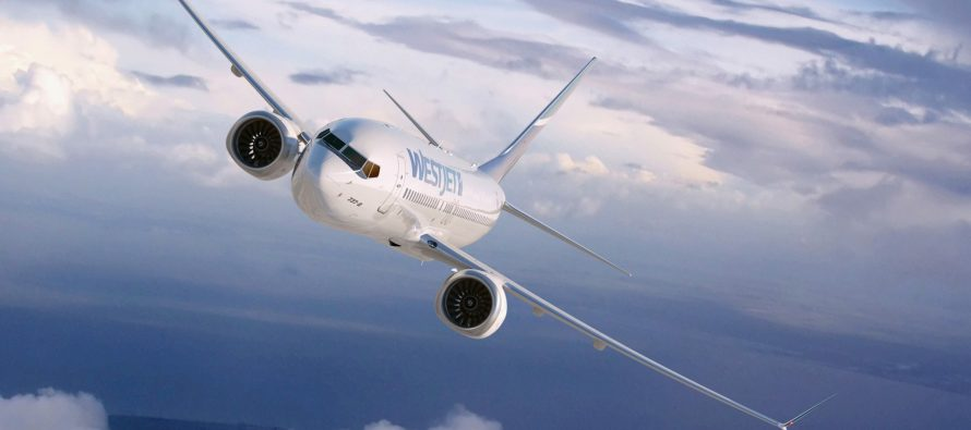 WestJet to purchase up to 20 787-9s