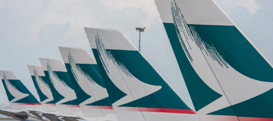 Cathay Pacific reports loss of US$33 million