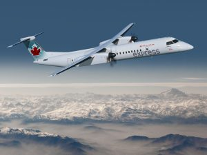 Jazz Aviation, a subsidiary of Chorus Aviation Inc., operates its fleet of Q400 aircraft under the Air Canada Express banner.