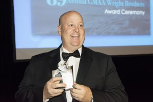 Robert Korn, President of Apollo Aviation Group, awarded Juan Trippe award.