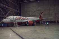 Avolon delivers one Airbus A320-200 to Air Berlin