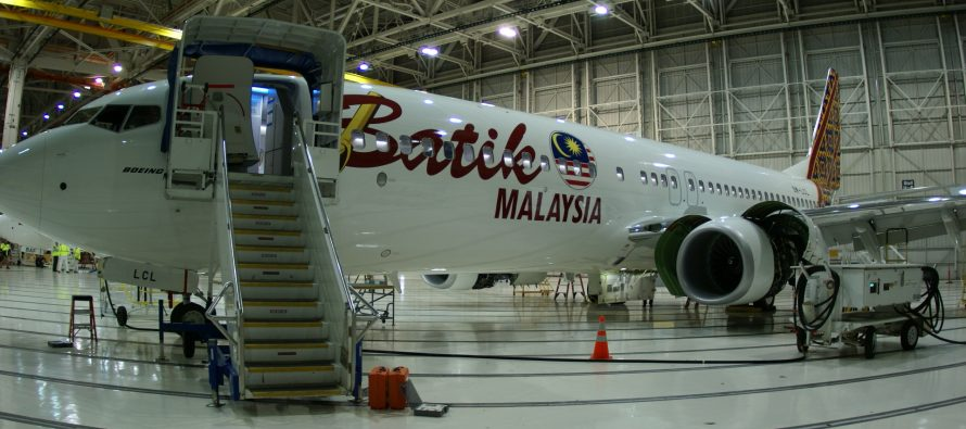 Avolon delivers one Boeing B737-800 to Malindo Airways