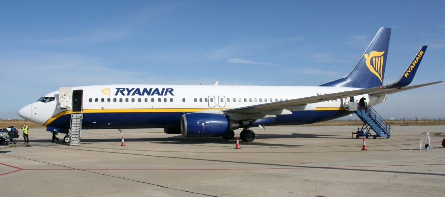 Ryanair confirms May on-time arrivals