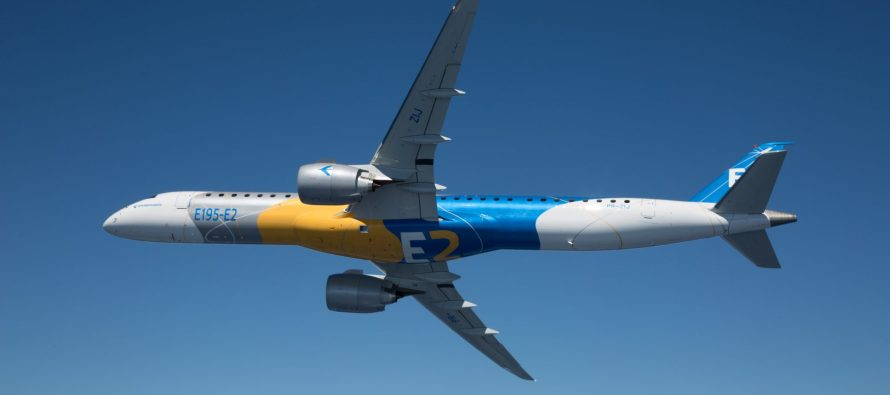 Embraer Flies the E195-E2