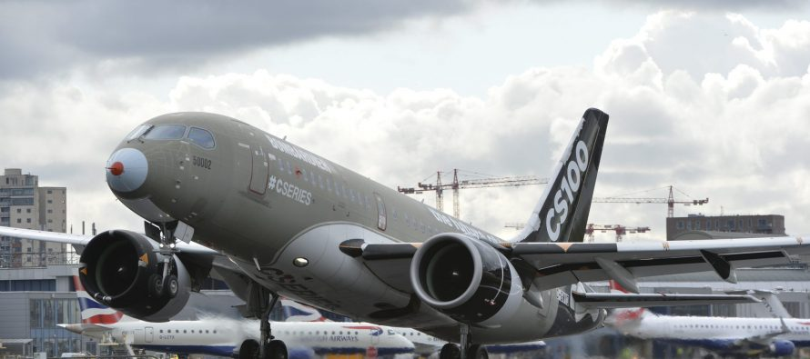 Transport Canada and EASA Award Steep Approach Certifications to Bombardier CS100 Aircraft
