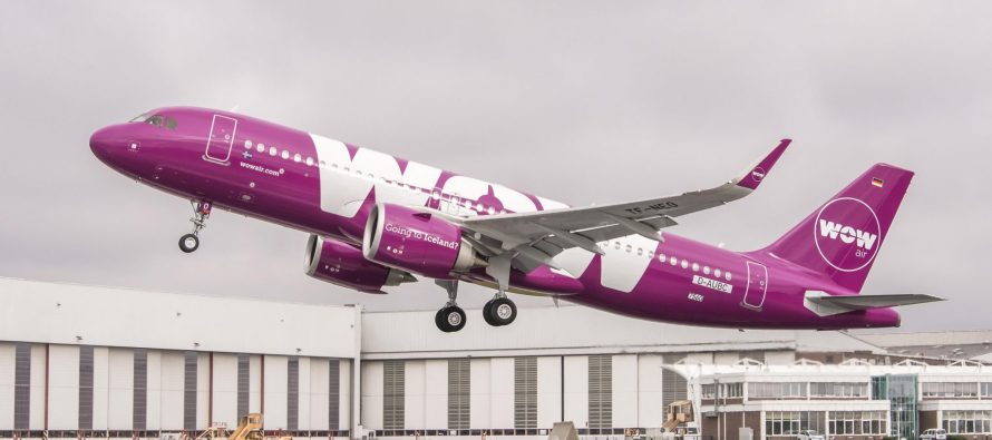 Wow Air reports annual passenger traffic