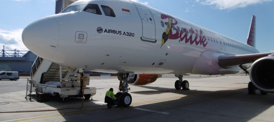 Avolon delivers one Airbus A320-200 to Batik Air