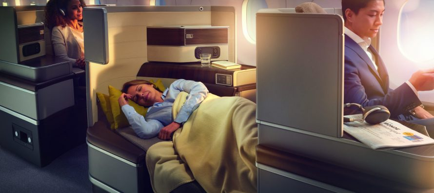 Recaro develops intelligent aircraft seat including wellbeing features