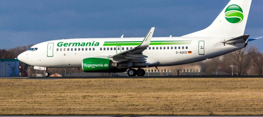 Germania connects four German cities to Faro