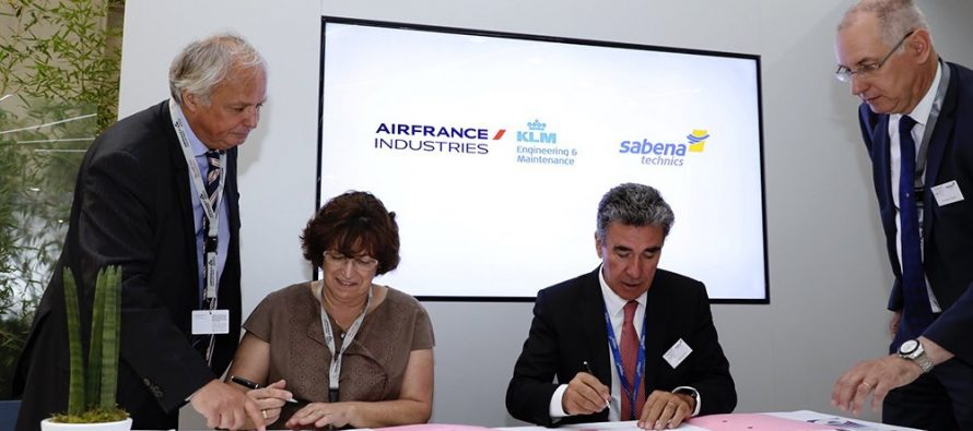 AFI KLM E&M and Sabena technics To Set Up Singapore Joint Component Repair Shop
