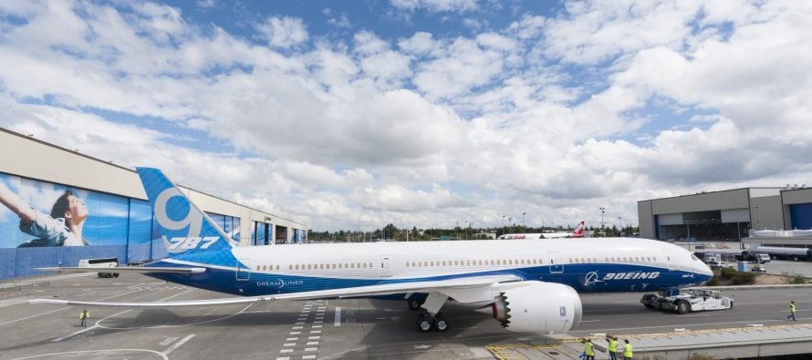 BOC Aviation orders four 787-9 aircraft