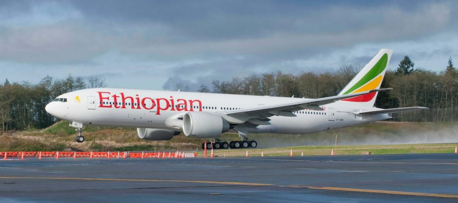 Ethiopian Airlines commits to purchase two 777 Freighters