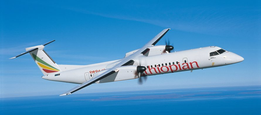 Ethiopian Airlines unveiled as Q400 customer