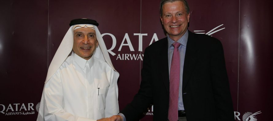 Qatar Airways to offer next generation Inmarsat GX Aviation in-flight broadband service