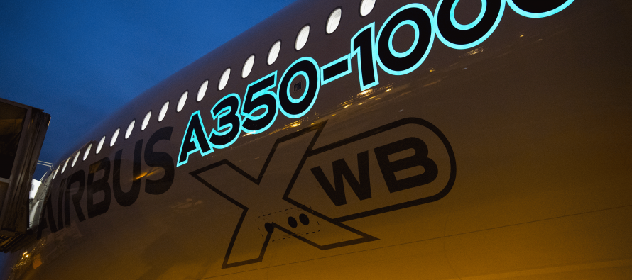 World's first electroluminescent paint for Airbus aircraft