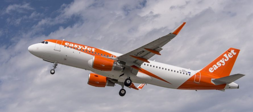 easyJet reports July traffic