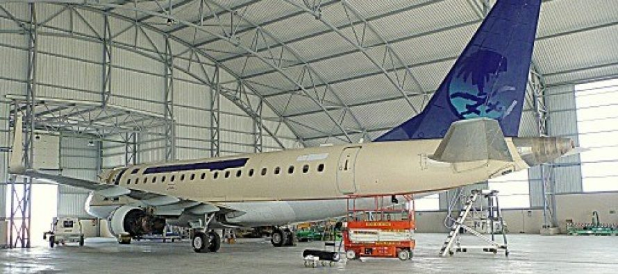 AerFin take delivery of first Embraer EJET 170LR