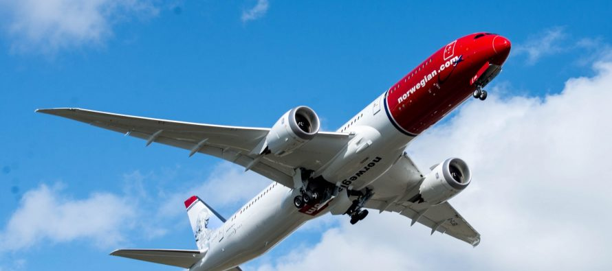 Norwegian sets new record transatlantic flight time from New York to London
