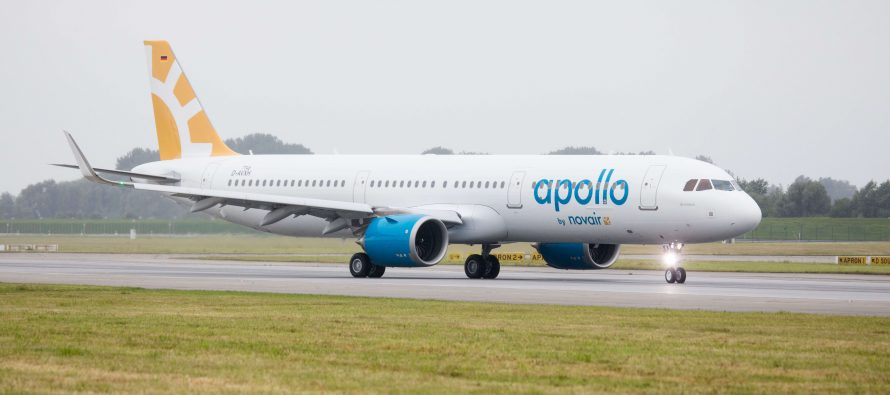 ALC delivers one new A321neo to Novair