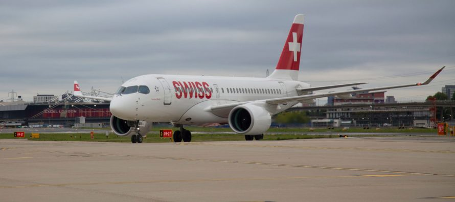 Bombardier C Series aircraft completes first commercial flight into London City Airport