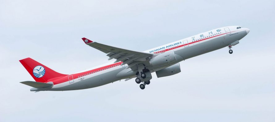 Sichuan Airlines launches flights from Pulkovo St. Petersburg Airport