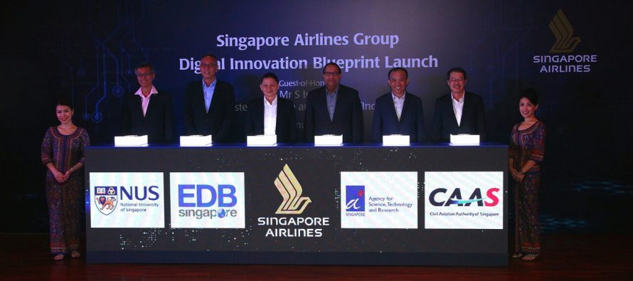 Singapore Airlines forges ahead with digital innovation blueprint