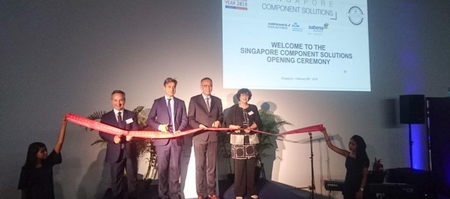 AFI KLM E&M and Sabena technics Inaugurate Joint Workshop