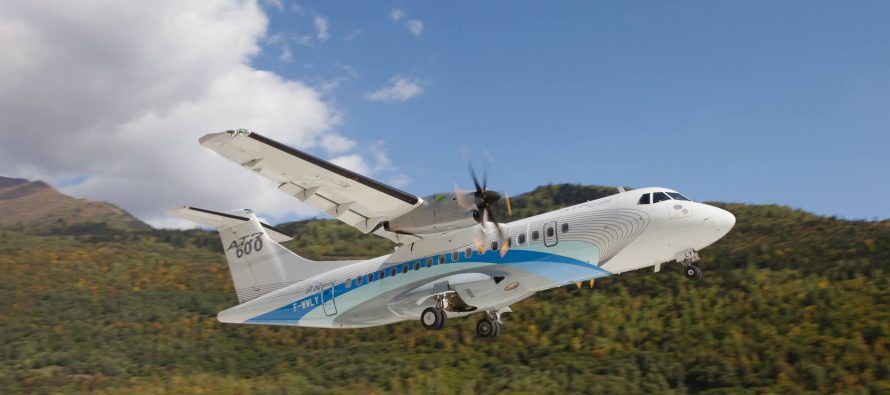 NAC delivers one new ATR 42-600 to Stobart Air on lease