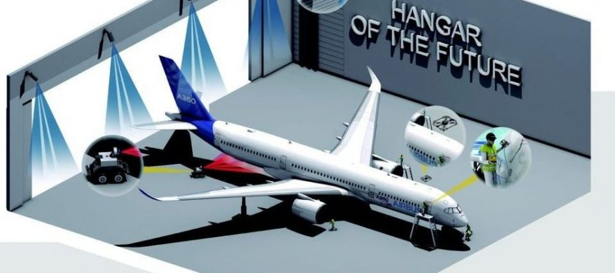 """Hangar of the future"" getting closer to enhance aircraft maintenance"