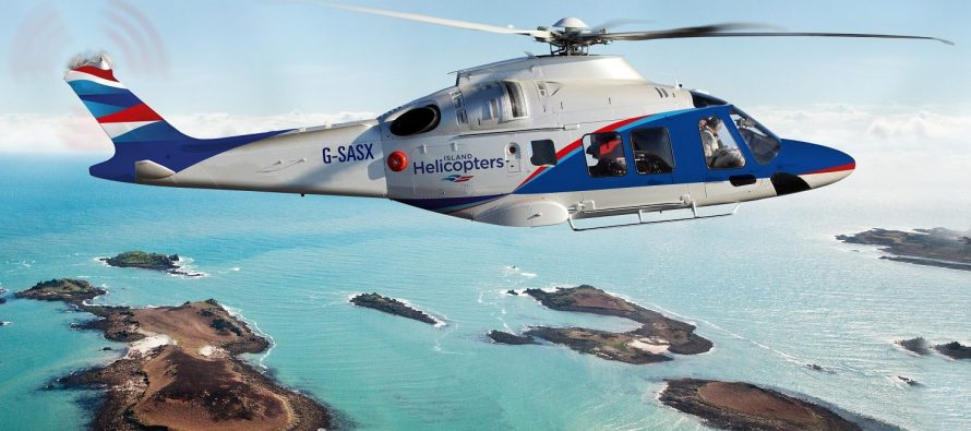 New helicopter service from Land's End Airport to the Isles of Scilly