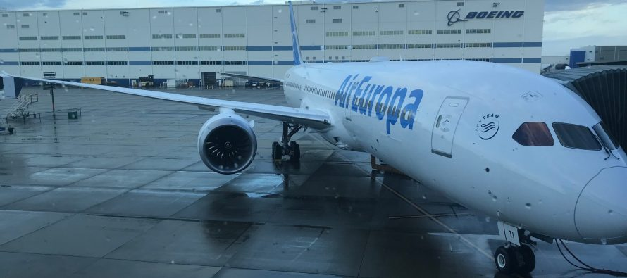 Avolon delivers one 787-9 to Air Europa