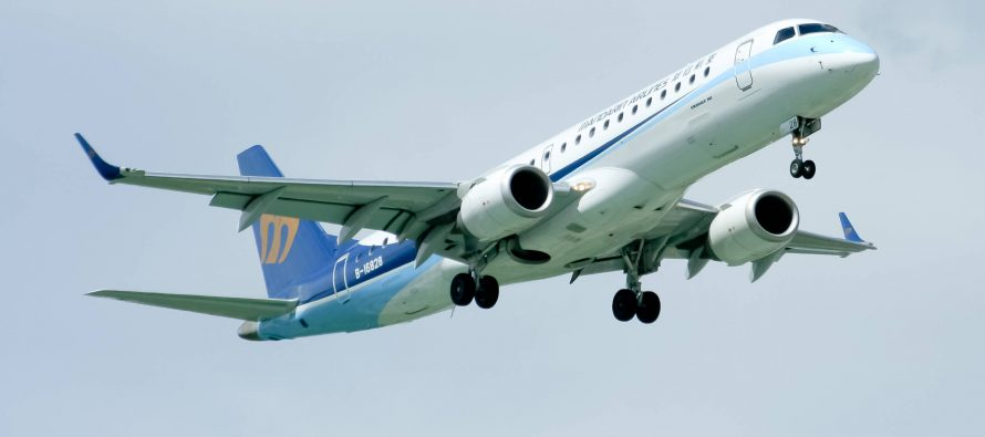 TrueNoord purchases two E190s from GECAS operated by Mandarin Airlines