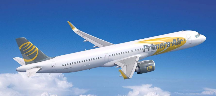Primera Air cancels Birmingham services