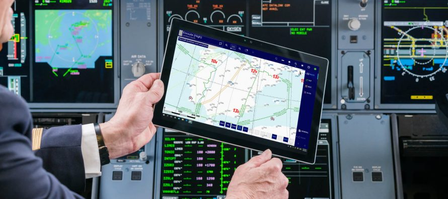 Inmarsat certifies Lufthansa Systems airline pilot applications for use on SB-S platform
