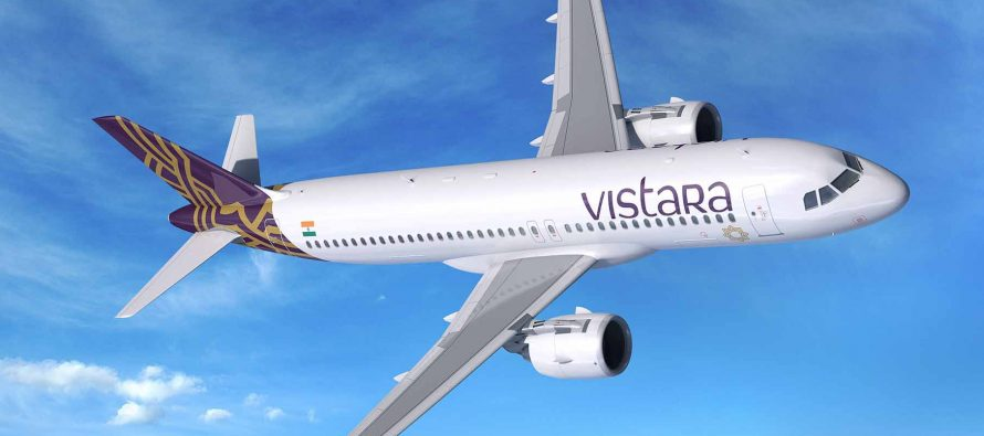 VISTARA to add 50 Airbus A320neo Family aircraft to fleet