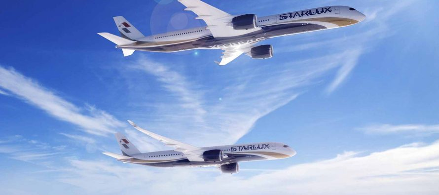 STARLUX Airlines selects A350 XWB for long range services