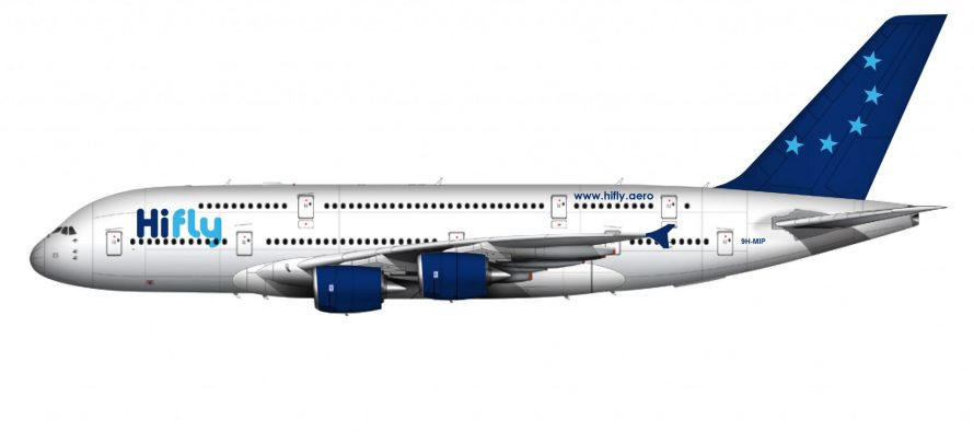 Airbus A380 Joins Hi Fly Fleet