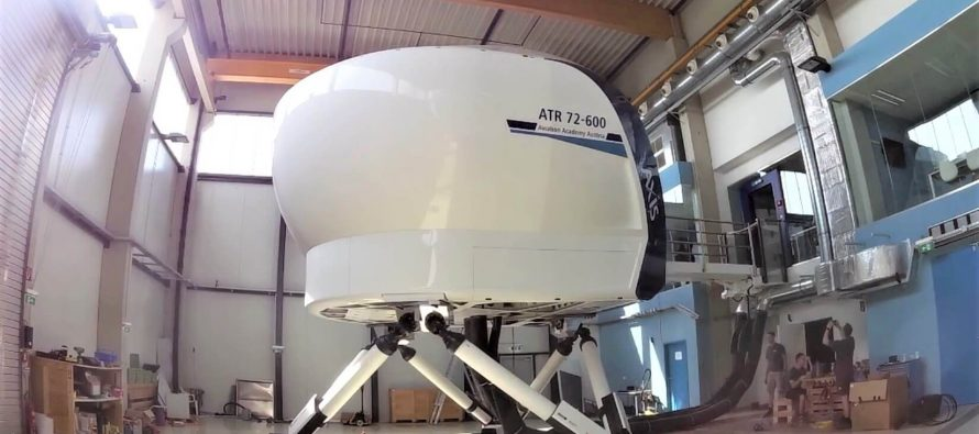 New ATR 72-600 simulator from Axis Flight Training Systems achieves FSTD qualification